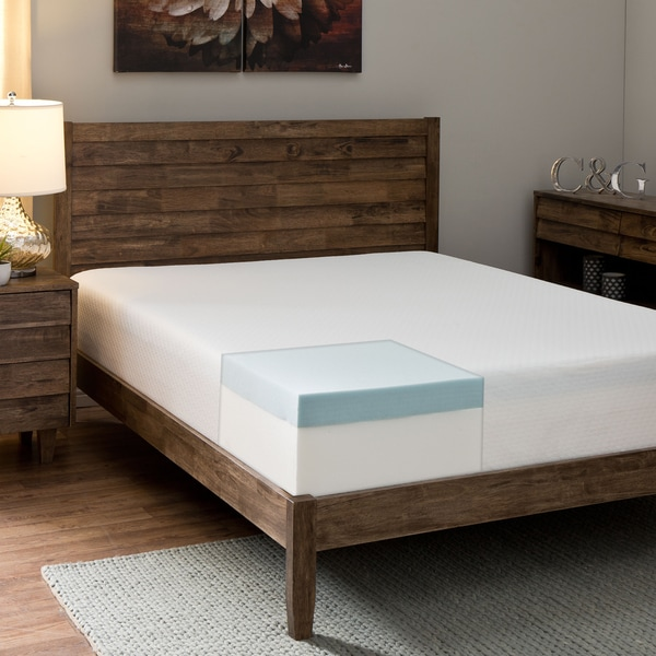 Comfort Dreams Anti-bacterial/ Allergy/ Dust Mite Silver-treated 10-inch King-size Memory Foam Mattr
