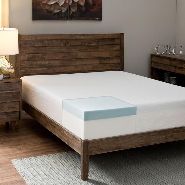 Comfort Dreams Anti-bacterial/ Allergy/ Dust Mite Silver-treated 10-inch Full-size Memory Foam Mattr