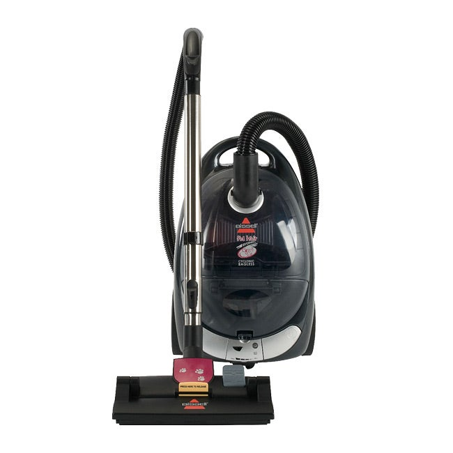 Bissell 66T6 Pet Hair Eraser Cyclonic Bagless Canister Vacuum