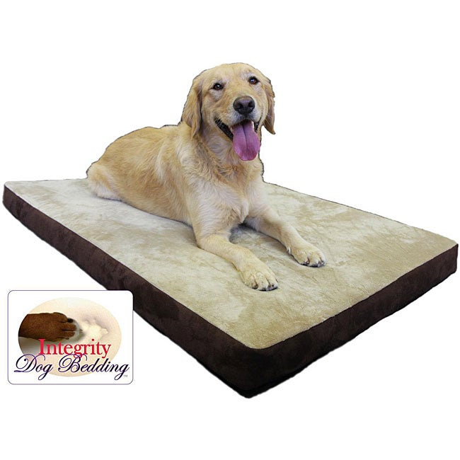 "Large 32"" x 46"" Orthopedic Memory Foam Dog Bed"