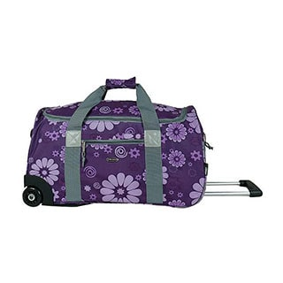 J World 'Tamarak' 22-inch Double-handled Carry-on Upright Rolling Duffel