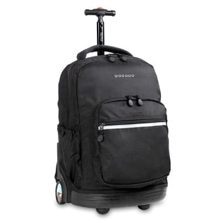J World 'Sunrise' 18-inch Rolling Backpack
