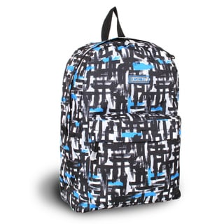 J World 'Ivy' Blue Touches 17-inch School Backpack