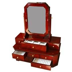 Jewelry Collection Box/Vanity Mirror