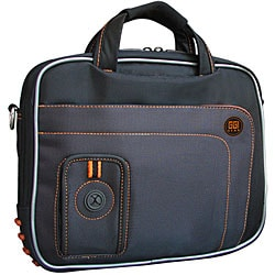 Rugged Ballistic Nylon Black Netbook Laptop Case