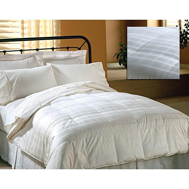Damask 310 Thread Count Medium-warmth Down Blend Comforter