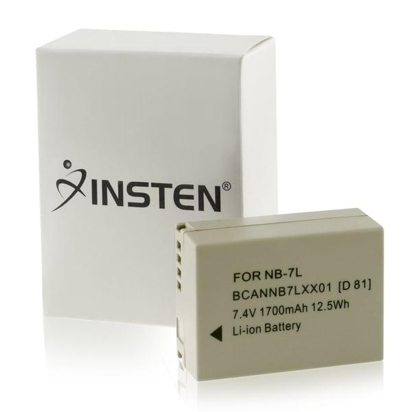 INSTEN Li-lon Standard Battery for Canon NB-7L