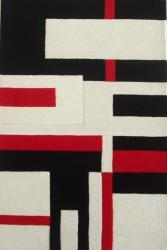 Hand-tufted Off-White Wool Cool Rug (8' x 11')