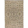 Hand-knotted Legacy Ivory New Zealand Wool Rug (10' x 14')