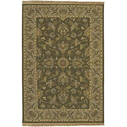 Set of 2 Hand-knotted Soumek New Zealand Wool Rugs (2' x 3')