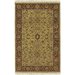 Hand-knotted Babylon New Zealand Wool Rugs (2' x 3')