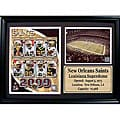 2009 New Orleans Saints 12x18 Photo Stat Frame
