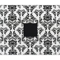 'Black & White Damask' American Crafts 3-ring Album (12x12)