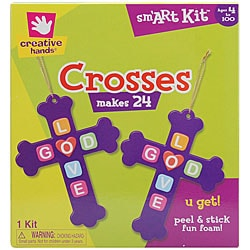 Fibre-Craft Creative Hands 'Crosses' Foam Kit