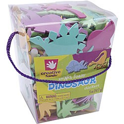 Creative Hands 'Dinosaur' 5-oz Foam Sticker Bucket