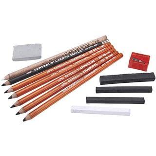 General Pencil 12-piece Original Charcoal Drawing Kit