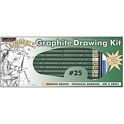 General Pencil 12-piece Kimberly Graphite Drawing Kit