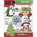 Hot off the Press Shaped Christmas Paper Flair Card Kit