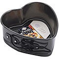 Black Metal Excelle Elite Quick-release Heart-shaped Springform Pan