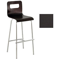 Ergocraft Wood Cafe Stool with Chrome Frame (Set of 2)