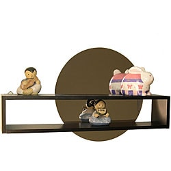 Decorative Shelf and Adhesive Mirror