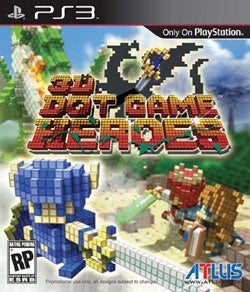 PS3 - 3D Dot Game Heroes