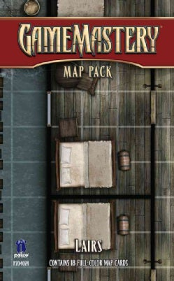 Gamemastery Map Pack Lairs (Cards)
