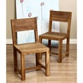 Reclaimed Teak Chair Set (India)