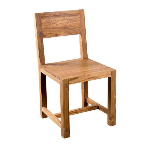 Reclaimed Teak Chair Set (India)