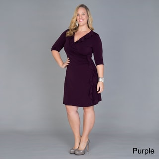 Kiyonna Clothing Women's Plus Size 'Vivienne' Cinch Dress