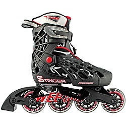 Web Stinger Boy's Adjustable Inline Skates