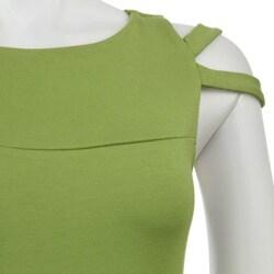 AtoZ Women's Cut-out Sleeve Dress