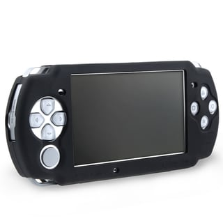 Eforcity Silicone Skin Case for Sony PSP 3000, Black