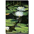 Patty Tuggle 'Lovely Lilies' Gallery-wrapped Canvas Art