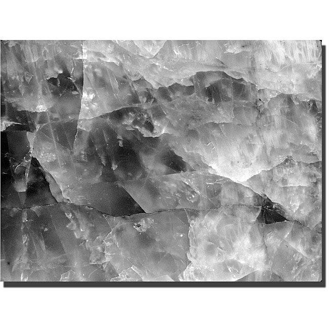 Kurt Shaffer 'Quartz Abstract' Gallery-wrapped Art