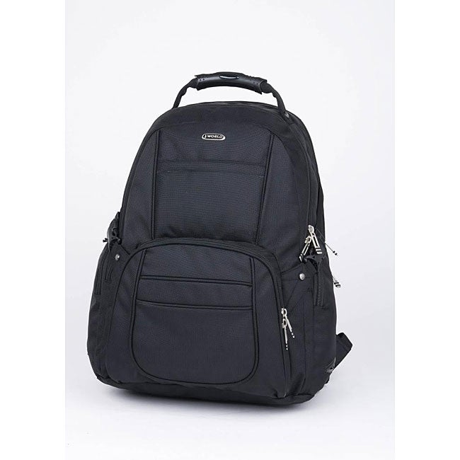 J World 'Knox' Ballistic Laptop Backpack