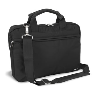 J World 'Jeanie' Black Laptop Briefcase