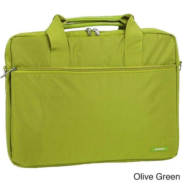 J World 14-inch Laptop Briefcase