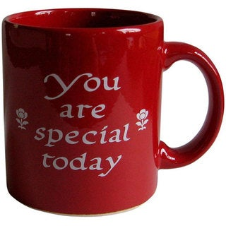 Waechtersbach 'You Are Special Today' Red Mug