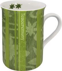 Konitz 'First Flush Tea' Green 10-oz Mugs (Set of 4)