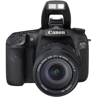 Canon EOS 7D 18MP Digital SLR Camera with 28-135mm Lens Kit