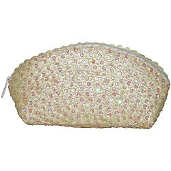 Pearl Sequined Clutch Handbag (Indonesia)