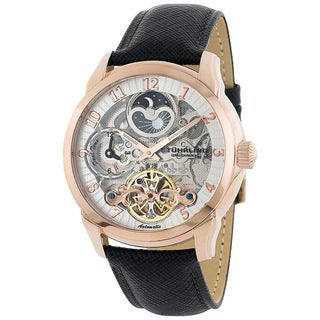 Stuhrling Original Men's Tempest Rosetone Automatic Watch