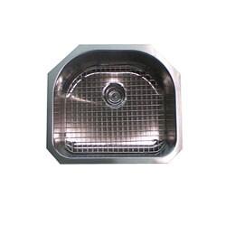Single D-shape Bowl Premium 16-gauge Kitchen Sink