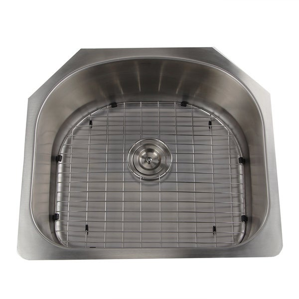 Single D-shape Bowl Premium 16-gauge Kitchen Sink