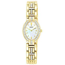 Citizen Women's Eco-drive Crystal Goldtone Watch