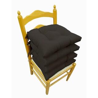 Micro Fiber Reversible Chair Pads (Set of 4)
