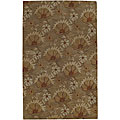 Hand-tufted Chryso New Zealand Wool Rug (8' Star)