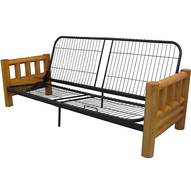 Yosemite full rustic lodge futon frame free shipping today overstock com 12386744