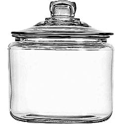 Anchor Hocking Corporation 3 Quart Storage Jar with cover, Heritage Hill